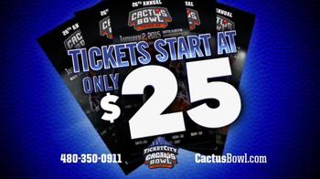 26th Annual TicketCity Cactus Bowl TV Spot, 'Bigger Than Ever' - Thumbnail 5