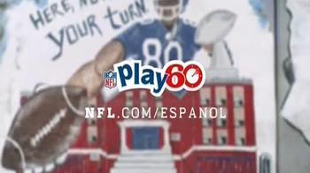 NFL Play 60 TV Spot, 'Victor Cruz' [Spanish] - Thumbnail 8