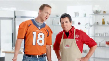 Papa John's TV Spot, 'Go Two for Pizzas' Featuring Peyton Manning - Thumbnail 3