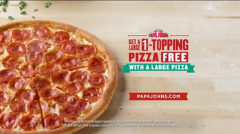 Papa John's TV Spot, 'Go Two for Pizzas' Featuring Peyton Manning - Thumbnail 9