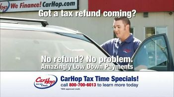 CarHop Auto Sales & Finance Tax Time Specials TV Spot, 'What Do Real Customers Say?'