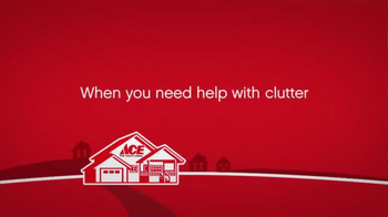 ACE Hardware TV Spot, 'Get Organized'