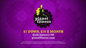 Planet Fitness Join Our Planet January TV Spot, 'Booty Shorts' - Thumbnail 9