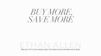 Ethan Allen TV Spot, 'Buy More, Save More' - Thumbnail 10