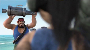Boom Beach TV Spot, 'Flamethrower' - Thumbnail 9