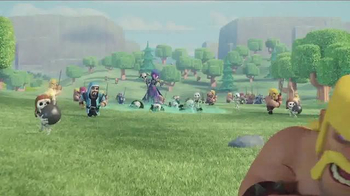 Clash of Clans TV Spot, 'Flight of the Barbarian' Song by Bob Dylan - Thumbnail 3