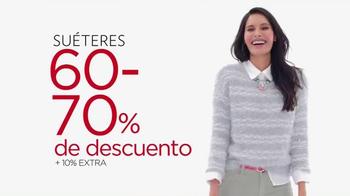 Kohl's Venta de Liquidación Post Navideña TV Spot, 'Suéteres' [Spanish] - Thumbnail 4