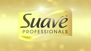 Suave Luxe Style Infusion Blow Dry Spray TV Spot, 'Salon Volume' - Thumbnail 3