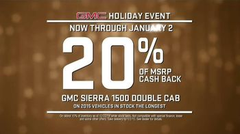 GMC Holiday Event TV Spot, 'It's the Thought That Counts'