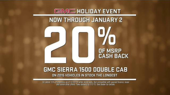 GMC Holiday Event TV Spot, 'It's the Thought That Counts' - Thumbnail 7