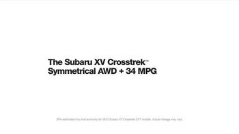 2015 Subaru XV Crosstrek TV Spot, 'Fountain' Song by Joshua Radin - Thumbnail 9