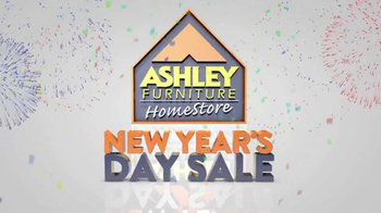 Ashley Furniture Homestore New Year's Day Sale TV Spot, 'Goodbye to Old' - Thumbnail 1