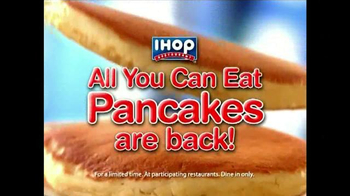 IHOP TV Spot, 'The All You Can Eat Pancakes are Back!' - Thumbnail 1