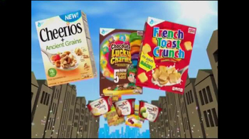 Safeway TV Spot, 'Great Deals on General Mills'
