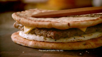 Dunkin' Donuts Turkey Sausage Flatbread TV Spot, 'The Truth' - Thumbnail 7