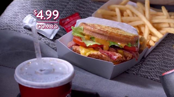 Jack in the Box Chipotle Chicken Club Combo TV Spot, 'Lunch Break' - Thumbnail 10