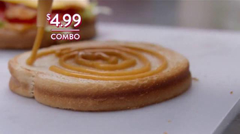Jack in the Box Chipotle Chicken Club Combo TV Spot, 'Lunch Break' - Thumbnail 8