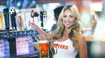 Hooters TV Spot, 'The Greatest Month of Football Ever' - Thumbnail 1