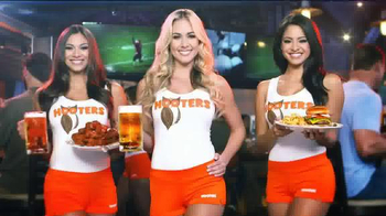 Hooters TV Spot, 'The Greatest Month of Football Ever' - 23 commercial airings
