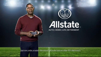 Allstate TV Spot, 'Project Aware Share: Post-Game' - Thumbnail 10