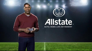 Allstate TV Spot, 'Project Aware Share: Post-Game' - Thumbnail 9