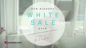 Overstock.com Biggest White Sale Ever TV Spot, 'Now in Color' - Thumbnail 2