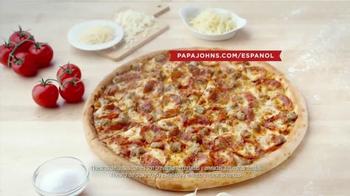 Papa John's TV Spot, 'Gran Pizza' [Spanish] - Thumbnail 8
