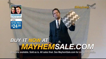 Allstate TV Spot, 'Mayhem Sale: Lampshade' - Thumbnail 3