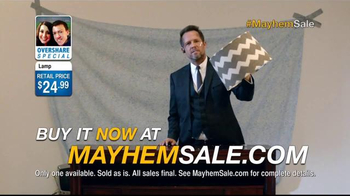 Allstate TV Spot, 'Mayhem Sale: Lampshade' - 1 commercial airings