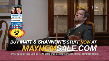Allstate TV Spot, 'Mayhem Sale: Items for Sale' - Thumbnail 4