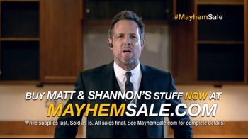 Allstate TV Spot, 'Mayhem Sale: Items for Sale' - Thumbnail 6