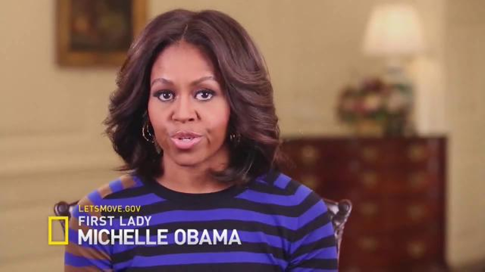 Let's Move TV Commercial, 'National Geographic: Story of Food' Ft. Michelle Obama