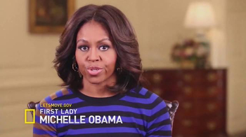 Let's Move TV Spot, 'National Geographic: Story of Food' Ft. Michelle Obama - 233 commercial airings