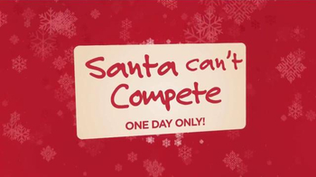 Ashley Furniture Homestore One Day Sale TV Spot, 'Santa Can't Compete' - Thumbnail 1