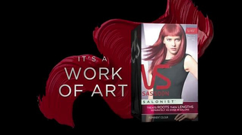 Vidal Sassoon Salonist TV Spot, 'Permanent Colour' - Thumbnail 10