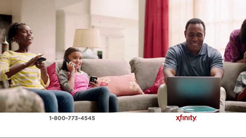 XFINITY X1 Entertainment Operating System TV Spot, 'TV & Internet Together' - Thumbnail 1