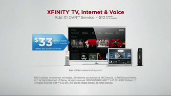 XFINITY X1 Entertainment Operating System TV Spot, 'TV & Internet Together' - Thumbnail 4