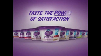 Dannon Light & Fit Greek Yogurt TV Spot, 'The Power' Song by Snap! - Thumbnail 10
