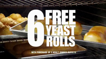Golden Corral Take-Home Yeast Rolls TV Spot, 'That's How We Roll'