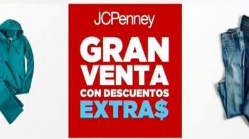 JCPenney Gran Venta con Descuentos Extras TV Spot, 'Compras' [Spanish] - Thumbnail 1