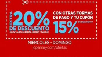 JCPenney Gran Venta con Descuentos Extras TV Spot, 'Compras' [Spanish] - Thumbnail 2