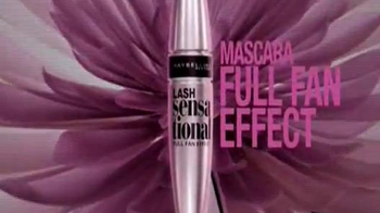 Maybelline New York Lash Sensational Full Fan Effect TV Spot [Spanish] - Thumbnail 9