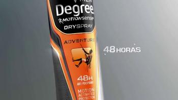 Degree Men Dry Spray TV Spot, 'Fresco y Limpio' [Spanish] - Thumbnail 3