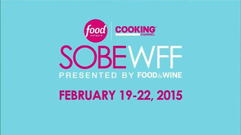 2015 Food Network South Beach Wine & Food Festival TV Spot, 'Get Tickets' - Thumbnail 2