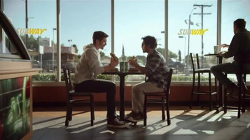 Subway Grilled Chicken Strips TV Spot, 'Break Through' - Thumbnail 1