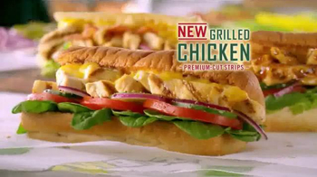 Subway Grilled Chicken Strips TV Spot, 'Break Through' - Thumbnail 7