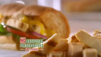 Subway Grilled Chicken Strips TV Spot, 'Break Through' - Thumbnail 9