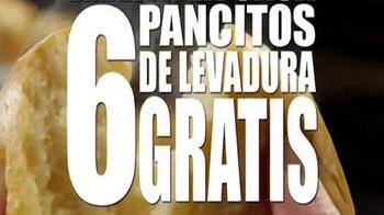 Golden Corral Take-Home Yeast Rolls TV Spot, 'Me Gusta Gratis' [Spanish] - Thumbnail 6