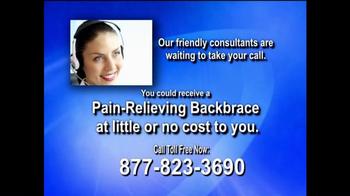Health Alert Hotline TV Spot, 'Pain-relieving Backbrace' - Thumbnail 10