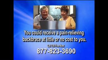Health Alert Hotline TV Spot, 'Pain-relieving Backbrace' - Thumbnail 4